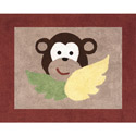 Monkey Accent Rug, Kids Playroom Area Rugs | Bedroom Rugs | Carpet | aBaby.com