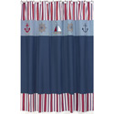 Nautical Nights Shower Curtain, Nautical Themed Nursery | Nautical Bedding | ABaby.com