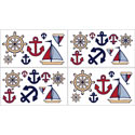 Nautical Nights Wall Decal, Kids Wall Decals | Baby Room Wall Decals | Ababy.com