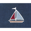 Nautical Nights Accent Rug, Kids Playroom Area Rugs | Bedroom Rugs | Carpet | aBaby.com