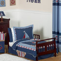 Nautical Nights Toddler Bedding, Nautical Themed Nursery | Nautical Bedding | ABaby.com