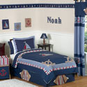Nautical Nights Twin/Full Bedding, Nautical Themed Bedding | Baby Bedding | ABaby.com