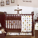 Night Owl Crib Bedding Collection, Gender Neutral Baby Bedding | Neutral Crib Bedding | ABaby.com