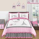 Paris Collection Twin/Full Bedding Set, Twin Bed Bedding | Girls Twin Bedding | ABaby.com