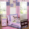 Pretty Pony Toddler Bedding, Girls Toddler Bedding Sets | Little Girl Bedding | Baby