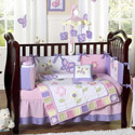 Butterfly Pink and Purple Crib Bedding Collection, Crib Comforters |  Ballerina Crib Bedding | ABaby.com