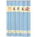 Jungle Safari Shower Curtain, Kids Shower Curtains | Shower Curtain | ABaby.com