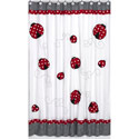 Little Ladybug Shower Curtain, Butterfly Themed Nursery | Butterfly Bedding | ABaby.com
