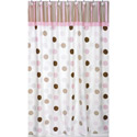 Mod Dots Shower Curtain, Kids Shower Curtains | Shower Curtain | ABaby.com