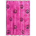 Peace Shower Curtain, Baby Bath Essentials | Kids Bath Accessories | ABaby.com