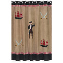 Pirate Treasure Cove Shower Curtain, Kids Shower Curtains | Shower Curtain | ABaby.com