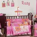 Surf Pink Crib Bedding, Surfs Up Themed Bedding | Baby Bedding | ABaby.com