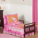 Surf Pink Toddler Bedding, Girl Toddler Bedding Sets | Toddler Girl Bedding | ABaby.com