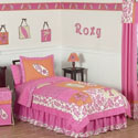 Surf Pink Twin/Full Bedding, Twin Bed Bedding | Girls Twin Bedding | ABaby.com