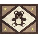 Teddy Bear Accent Rug, Bunnies Themed Nursery | Bunnies And Bears Bedding | ABaby.com