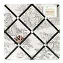 Toile Memo Board, Kids Bedroom Decor | Clocks | Baby Picture Frames | ABaby.com