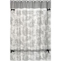 Toile Shower Curtain, Kids Shower Curtains | Shower Curtain | ABaby.com