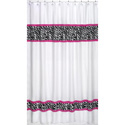 Zebra Shower Curtain, Kids Shower Curtains | Shower Curtain | ABaby.com