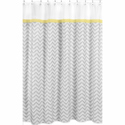 Zig Zag Shower Curtain, Kids Shower Curtains | Shower Curtain | ABaby.com