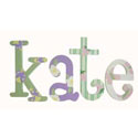 Kate's Garden Whimsical  Letters, Butterfly Themed Nursery | Butterfly Bedding | ABaby.com