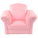 Pink Faux Leather Kids Chair, Kids Upholstered Chairs | Personalized | Couch | Armchair