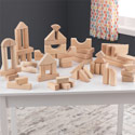 60-Piece Wooden Block Set , Infant Toys | Toddler Toys | Infant Baby Toys | ABaby.com