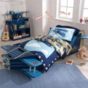 Airplane Toddler Bed, Train And Cars Themed Nursery | Train Bedding | ABaby.com