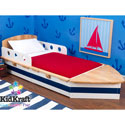 Boat Toddler Bed, Nautical Themed Nursery | Nautical Bedding | ABaby.com