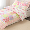Dollhouse Cottage Toddler Bedding, Girls Toddler Bedding Sets | Little Girl Bedding | Baby