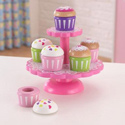 Cupcake Stand Set, Kids Play Kitchen Sets | Childrens Play Kitchens | ABaby.com