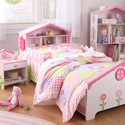 Dollhouse Toddler Bedroom Set, Toddler Furniture Sets | Toddler Bedroom Sets | ABaby.com