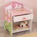 Dollhouse Side Table, Kids Night Tables | Toddler Night Stand | ABaby.com