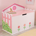 Dollhouse Toybox, Kids Storage Bins | Personalized Kids Toy Boxes | ABaby.com