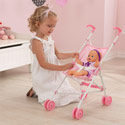 Darling Doll Stroller, Baby Doll House | Accessories | Doll Furnitutre Sets