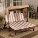 Double Chaise Lounger , Kids Outdoor Furniture | Outdoor Table And Chair Sets | ABaby.com