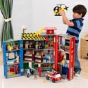 Everyday Heroes Police and Fire Station Set, Fireman Themed Toys | Kids Toys | ABaby.com