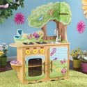 Fairy Woodland Kitchen, Kids Play Kitchen Sets | Childrens Play Kitchens | ABaby.com