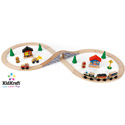 Figure 8 Train Set, Kids Train Sets | Baby Train Sets | Play Train Tables | ABaby.com