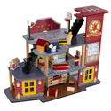 Deluxe Fire Rescue Set, Doll Houses | Playsets | Kids Doll Houses | ABaby.com