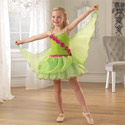 Green Winged Fairy Dress