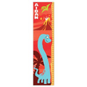 Personalized Red Dinosaur Growth Chart, Dinosaurs Themed Nursery | Dinosaurs Bedding | ABaby.com