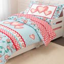 Princess Sweetheart Toddler Bedding, Girls Toddler Bedding Sets | Little Girl Bedding | Baby