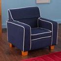 Blue Laguna Toddler Chair with Slip Cover, Kids Upholstered Chairs | Personalized Toddler Couch | Rocker | Recliner