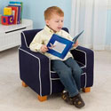 Blue Laguna Toddler Chair, Kids Upholstered Chairs | Personalized Upholstered Chairs | ABaby.com