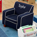 Personalized Blue Toddler's Laguna Chair, Kids Chairs | Personalized Kids Chairs | Comfy | ABaby.com