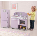 Lavender Retro Kitchen, Kids Play Kitchen Sets | Childrens Play Kitchens | ABaby.com