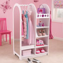 Let's Play Dress Up Unit, Kids Shelves | Baby Wall Shelves | Nursery Storage | ABaby.com