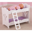 Lil Doll Bunk Bed, Baby Doll House | Accessories | Doll Furnitutre Sets