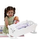 Lil' Doll Cradle, Baby Doll House | Accessories | Doll Furnitutre Sets