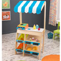 Grocery Marketplace Play Set, Outdoor Playhouse | Kids Play Houses | Kids Play Tents | ABaby.com